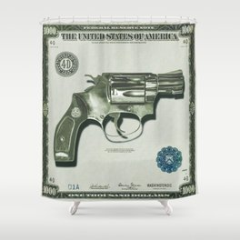 The Way of the Gun - Get That Money Shower Curtain