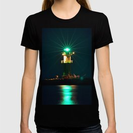 GREEN LIGHTHOUSE on the BALTIC T-shirt