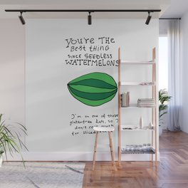 Seedless Watermelons Wall Mural