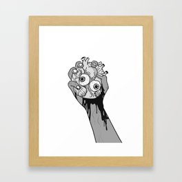 Clutch Framed Art Print