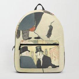"""Henri de Toulouse-Lautrec """"La Goulue and her Sister"""" Backpack"""