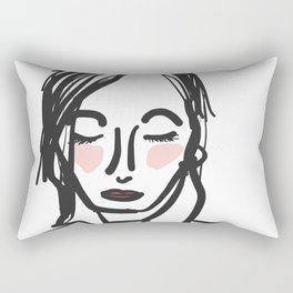 La Femme Rectangular Pillow