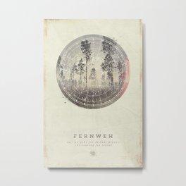 Fernweh Vol 4 Metal Print