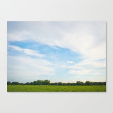 Country Sky Canvas Print