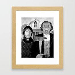 the shinning Framed Art Print