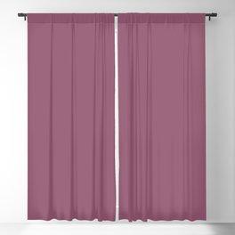 Beckoning Dark Pastel Purple - Pink Solid Color Pairs To Sherwin Williams Grandeur Plum SW 6565 Blackout Curtain