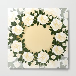 Floral background Metal Print