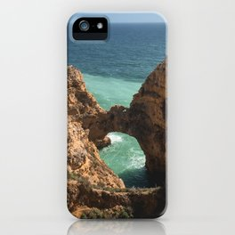Cliffs, Caves and Beaches I iPhone Case