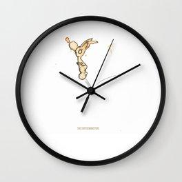 the coffeemonsters 593 Wall Clock