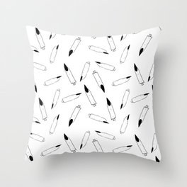 Severed Fingers - Sketch Throw Pillow