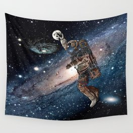 Space Dunk Wall Tapestry