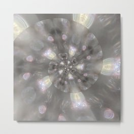 Light Speed - Abstract Photographic Art by Fluid Nature Metal Print