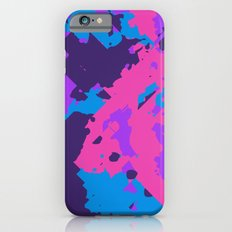 Pink Purple and Blue Abstract Slim Case iPhone 6s