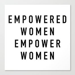 Empowered Women Canvas Print