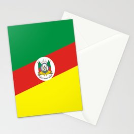 flag of rio grande do sul Stationery Cards