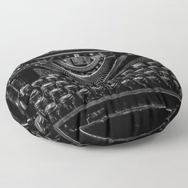 Old Typewriter Floor Pillow