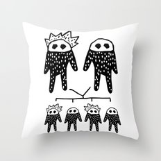 Genetics Throw Pillow