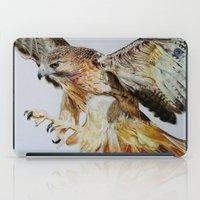 hawk iPad Cases featuring Hawk by Grace Neeson