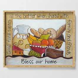 Bless Our Home Serving Tray