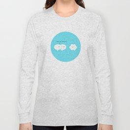 She's an introvert... Long Sleeve T-shirt