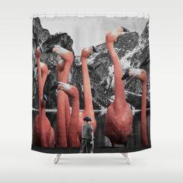 Vain Shower Curtain