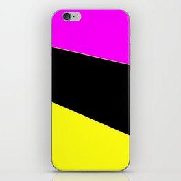Angelica . Lemon , raspberry , black iPhone Skin