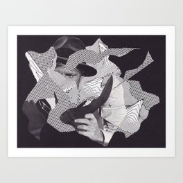 I Have Something Important To Tell You Art Print