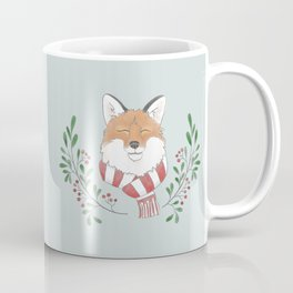 Holiday Fox Coffee Mug