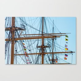 Full Mast Canvas Print