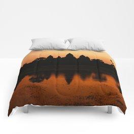 Angkor Wat Comforters