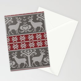 Ugly knitted Sweater Stationery Cards