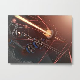 Battle for Scirocco Metal Print