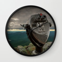 Lake Placid Vista Wall Clock
