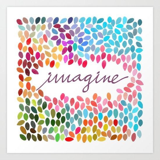 Imagine [Collaboration with Garima Dhawan] Art Print
