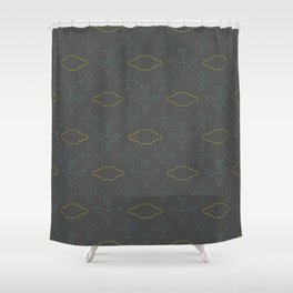 Plane Travel Wishes Shower Curtain