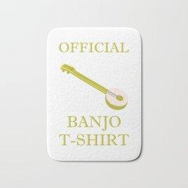 Awesome Banjo's Tshirt Design Official Banjo Tshirt Bath Mat