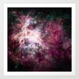 Nebula Intensifies Art Print
