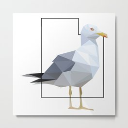 Utah – California Gull Metal Print