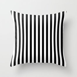 Stripe Black And White Vertical Line Bold Minimalism Stripes Lines Deko-Kissen