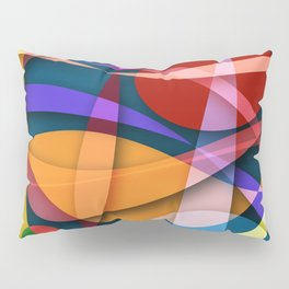 Abstract #358 Pillow Sham