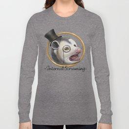 Awkward Opossum Long Sleeve T-shirt