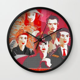 Tinker, Tailor, Soldier, Spy  Wall Clock