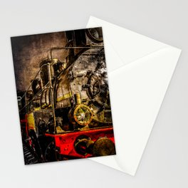 Old Timer Steam Train Stationery Cards