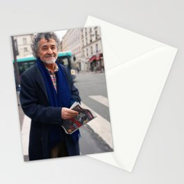 Parisian Mugshots - Rainy days (Gueules de Parisiens) Stationery Cards