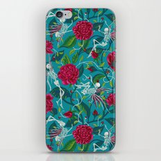 Death of Summer (carmine and blue) iPhone & iPod Skin