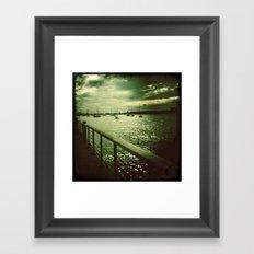 The Hudson Framed Art Print