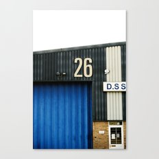 26 Canvas Print
