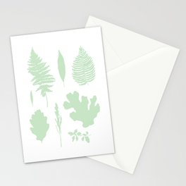 Botanic Boho Plant Leaf Stationery Cards