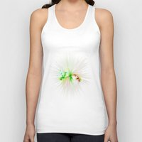 splatter Tank Tops featuring Plastic splatter by Charma Rose