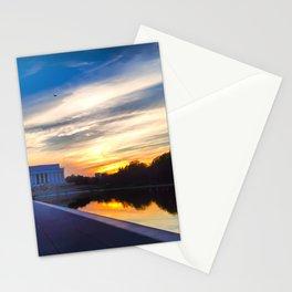 Sunrise of Liberty Stationery Cards